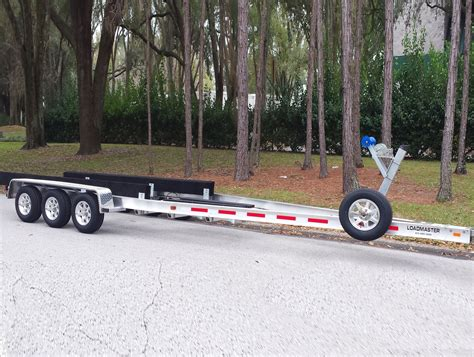 Aluminum Float On Boat Trailers by Custom Aluminum Boat Trailers Loadmaster Trailers