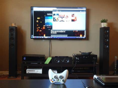 Livingroom Pc by Living Room Computer Setup Home Decor Ideas