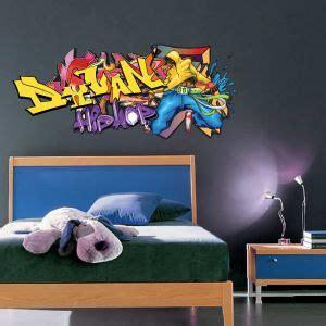 tag chambre ado sticker tag hip hop prénom personnalisable chambre ado