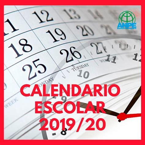 calendario escolar descargalo aqui noticia