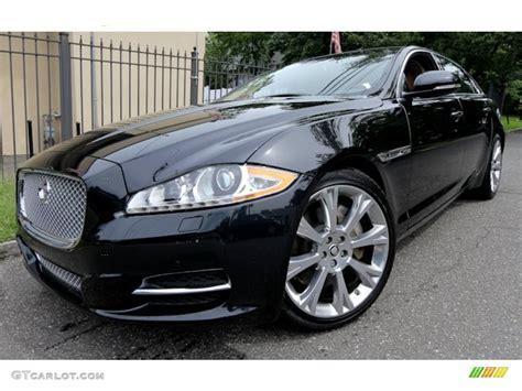 2012 Midnight Black Jaguar Xj Xjl Portfolio #69093844