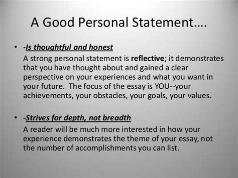 college personal statement essay on family