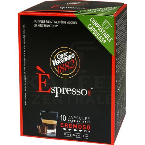 italienischer kaffee für vollautomaten caff 232 vergnano 1882 bester italienischer kaffee kaffeezentrale de gmbh