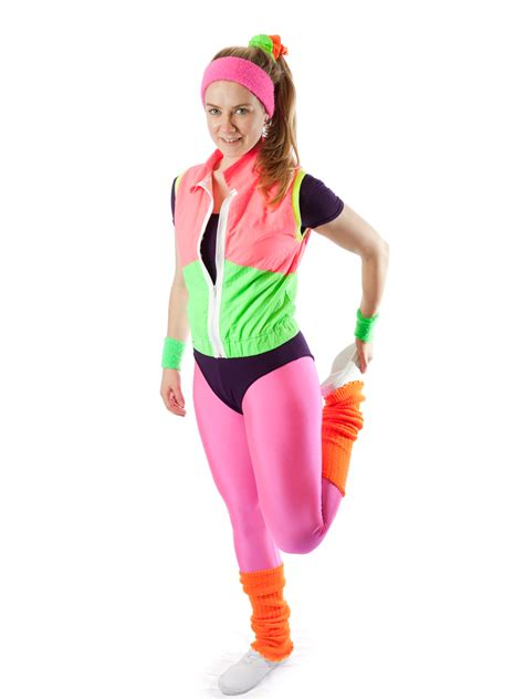 1980u0026#39;s Aerobic Sports Female costume for hire - Creative Costumes
