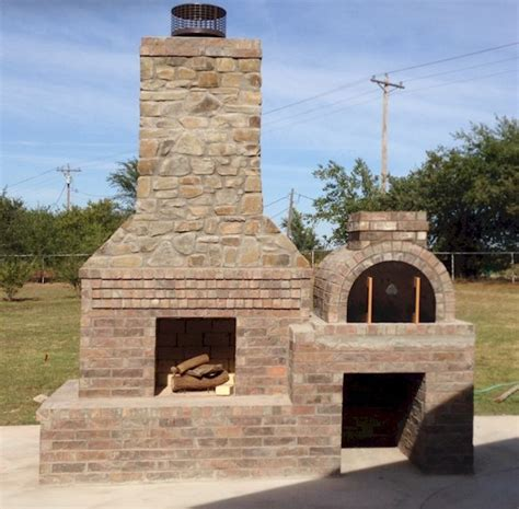 The Wolf Family Built This Awesome Outdoor Fireplace And