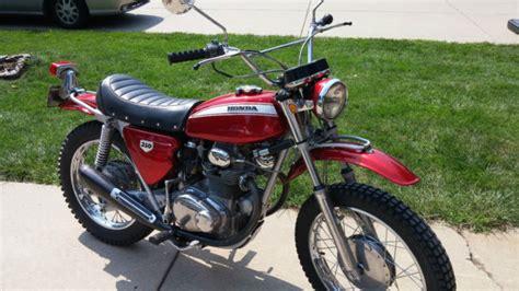 1970 Honda Sl350 Vintage Enduro Motorcycle Very Nice