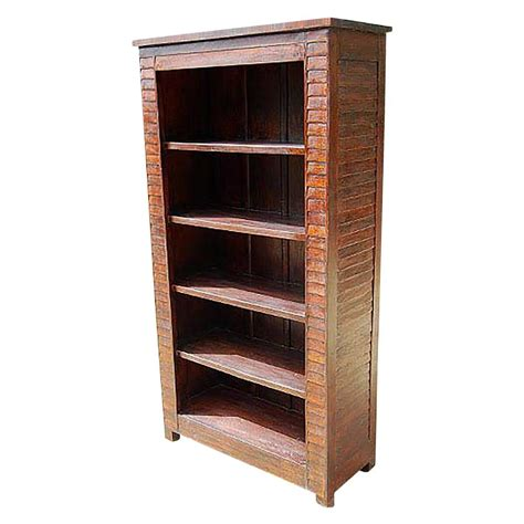 Wood Bookcase by Solid Wood Large 5 Shelves Bookcase Book Shelf Armoire