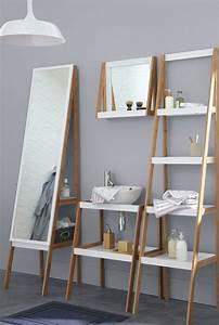 Miroir Étagère Salle De Bain : rangement pour salle de bains c t maison ~ Melissatoandfro.com Idées de Décoration