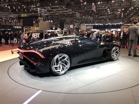 Bugatti La Voiture Noire Geneva Pictures Gallery and Quick ...