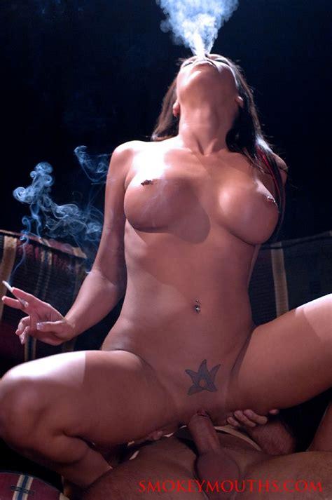 Top American Pornstar Rachel Starr Smokes Long Elegant All White 120 S Cigarettes As She Sucks