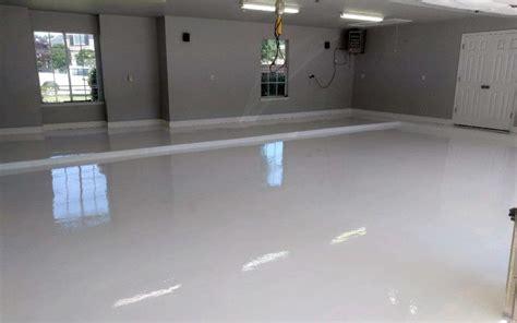 review  stunning white epoxy garage floor  armorpoxy
