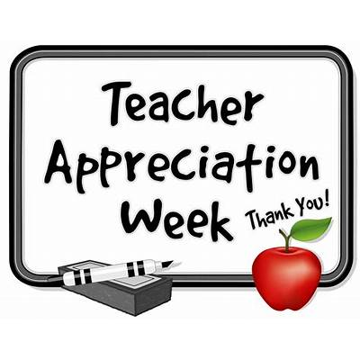 Teacher Appreciation Week and May the Fourth be with You