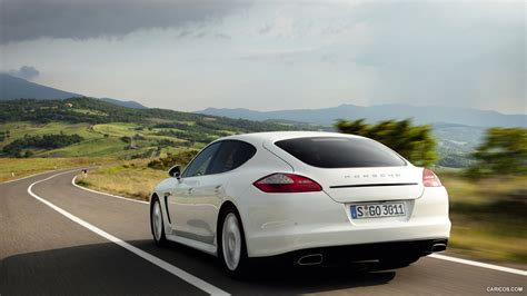 Porsche Panamera Diesel 2018 Rear Hd Wallpaper 18