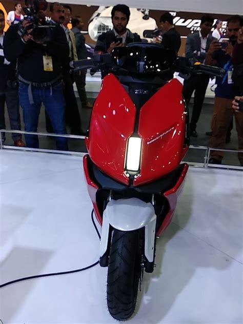 tvs creon skuter listrik konsep  frame twin spar