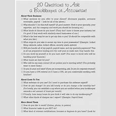 Worksheet No 12 Questions To Ask A Bookkeeper  Mom Incorporated The Book