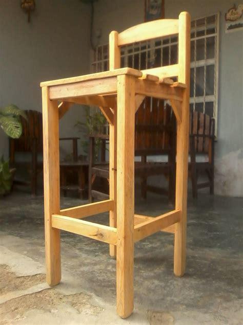 sillas  barra en madera excelente calidad bs