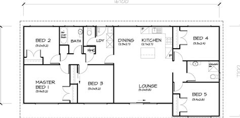 house plans 5 bedrooms 5 bedroom transportable homes floor plans