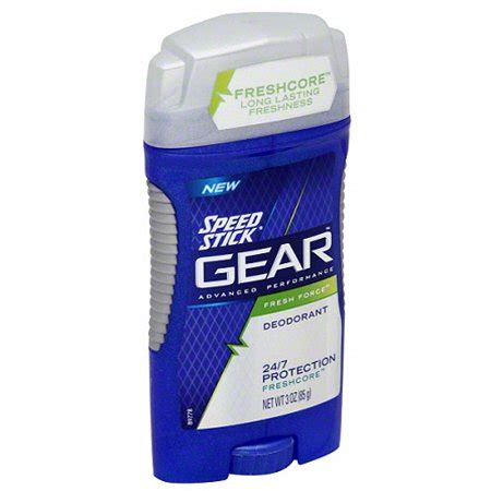 speed stick gear s deodorant fresh 3 ounce walmart