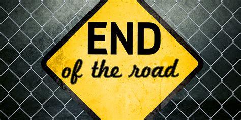 End Of The Road Howardfarrancom