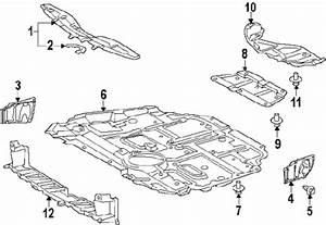 Toyotalexus 5141012105 Genuine Oem Engine Cover