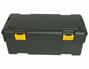 Coffre De Rangement Plastique : coffre de rangement plastique capacit 65 litres ~ Melissatoandfro.com Idées de Décoration