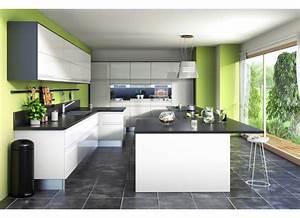 cuisine vert et gris cuisine vert anis et gris avec With amazing couleur mur salon tendance 17 deco maison tour eiffel