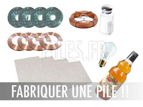 Comment Fabriquer Du Speed Maison by Exp 233 Rience Fabriquer Une Pile Volta 239 Que