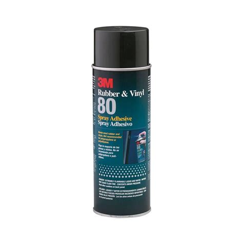 Spray On Vinyl by 3m 19 Oz Rubber And Vinyl 80 Spray Adhesive 80 The Home