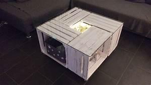 Tisch Aus Holzkisten : diy couchtisch aus alten obstkisten handarbeit tisch couchtisch und diy couchtisch ~ Frokenaadalensverden.com Haus und Dekorationen