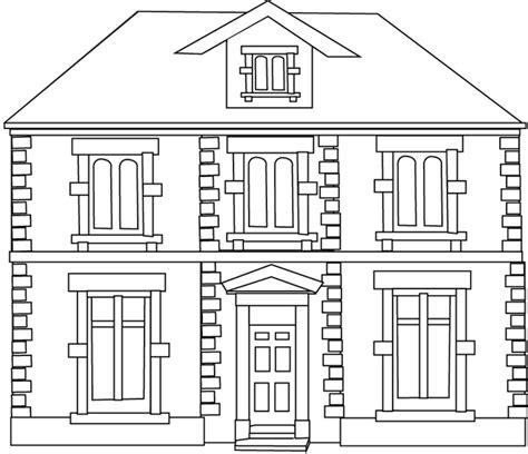 coloriage une maison dory fr coloriages