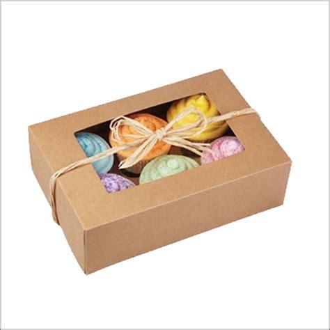 custom cupcake boxes manufacturer cup cake packaging