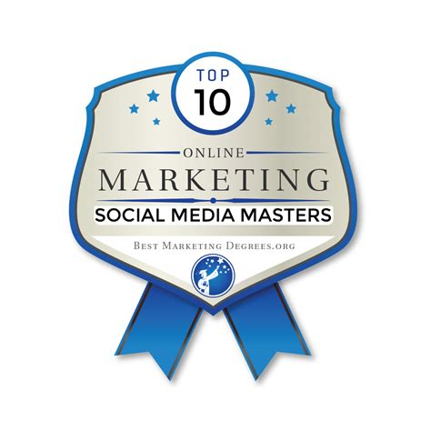 Social Media Marketing Masters Degree by The 10 Best Masters In Social Media Marketing