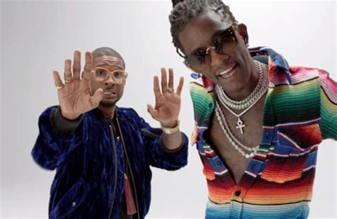 Usher And Young Thug Premiere 'no Limit' Video
