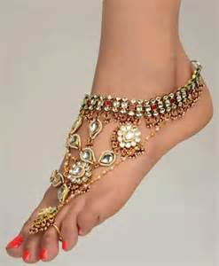 wedding dress chord foot 7 dazzling foot jewelry pieces fullonwedding