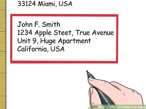 how to address a letter with a po box 3 ways to address a letter to a judge wikihow