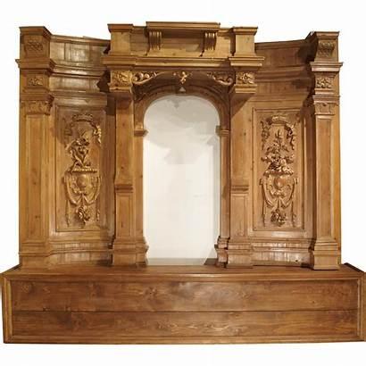 French Boiserie Antique Unique Century 17th Panel