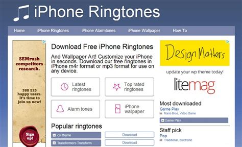 Top 10 Websites And Apps To Get Ringtones For Iphone