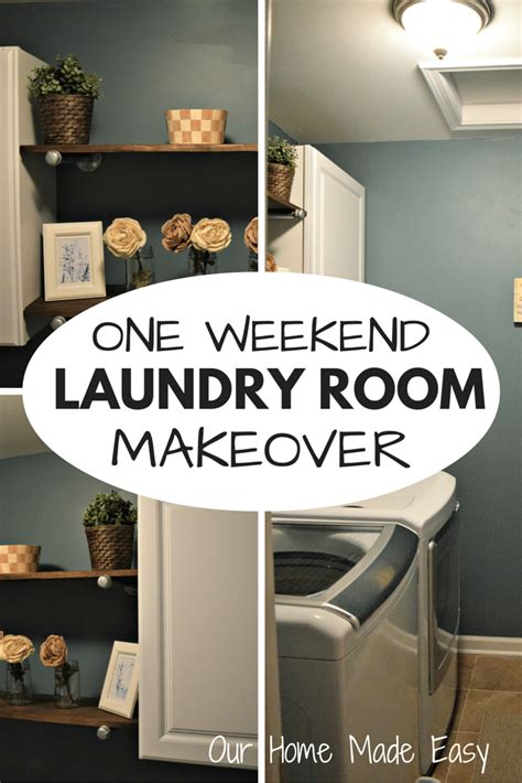 updating  laundry room decor   weekend  home