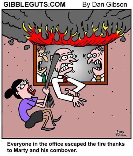 Combover Cartoon