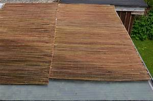 Sonnenschutz überdachte Terrasse : sonnenschutz nat rlich weidenmatten sind ideal zur beschattung weidenprofi gmbh ~ Sanjose-hotels-ca.com Haus und Dekorationen
