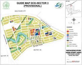 DHA City Karachi Map
