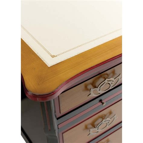 bureau rustique bureau rustique en chêne 7 tiroirs quercus