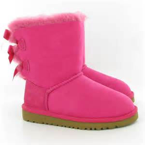 ugg bailey bow sale toddler ugg australia bailey bow boots in cerise