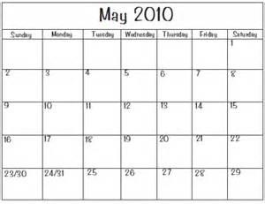 Calendar Print Out