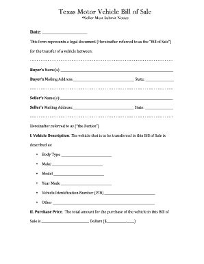 florida proof of vin form texas salvage bill of sale form templates fillable