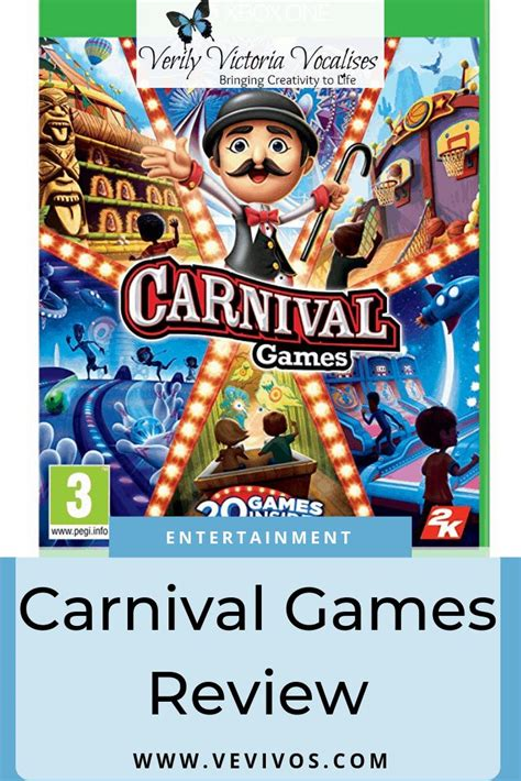 carnival games review  giveaway verily victoria vocalises