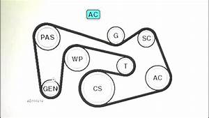 34 2001 Mercury Sable Serpentine Belt Diagram