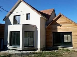 Isolation Extérieure Bardage : maison en bois bardage et crepis sur isolation exterieure ~ Premium-room.com Idées de Décoration