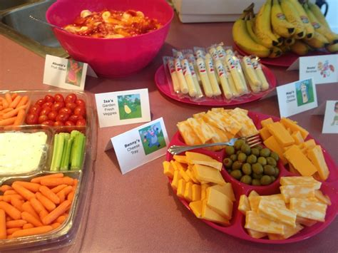 Party Food :  Dora The Explorer Birthday Party- The Food
