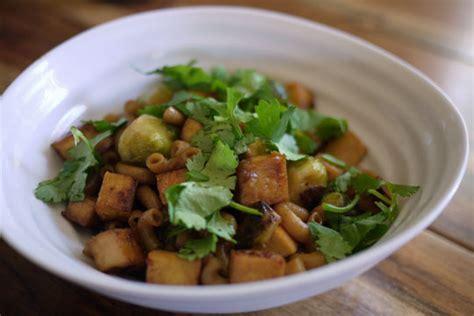 comment cuisiner le choux chinois légumineuses et tofu